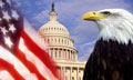Flag, Capitol, Eagle